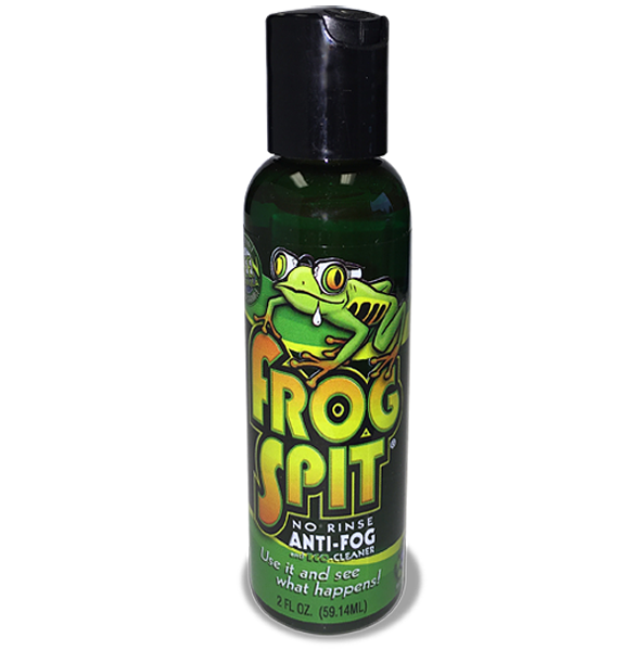 Anti Fog Wipes for Goggles and Glasses - Big 2 Oz Bottle of Frogspit