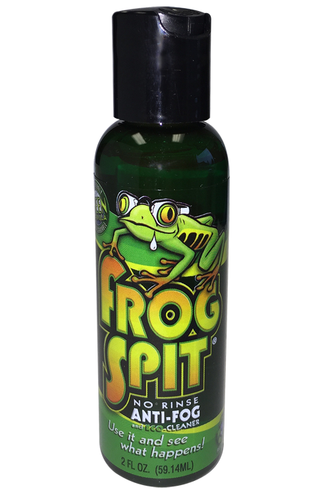 Frog Spit Big 2oz Bottle - Anti Fog for Goggles and Glasses